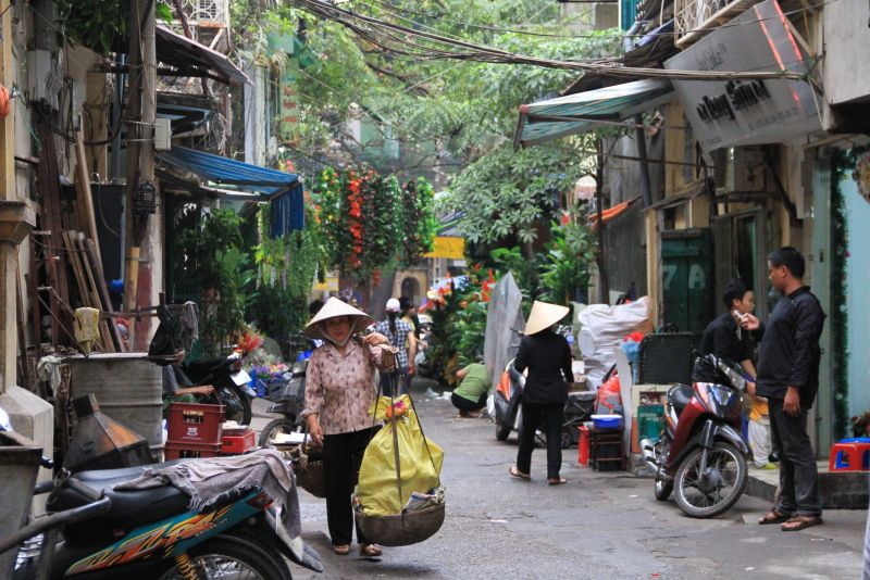 Vietnam quartier Hanoi